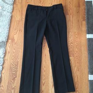 Bootcut black pants